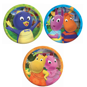 Backyardigans 7 Inch Plates- 8ct