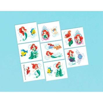 Disney Ariel Tattoo Favors