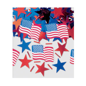 Stars  Stripes Printed Mix Confetti