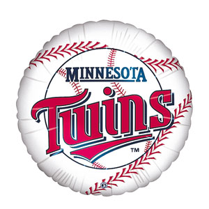 Minnesota Twins Balloon- 18in