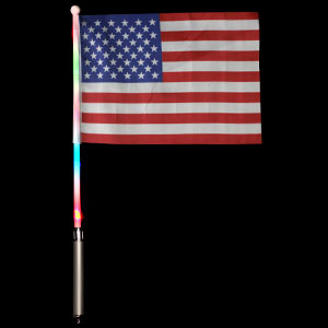 LED USA Flag - 6in x 4in