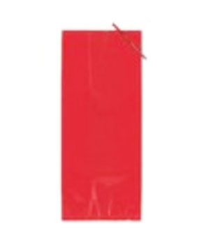 Solid Red Cello Bags - 20ct