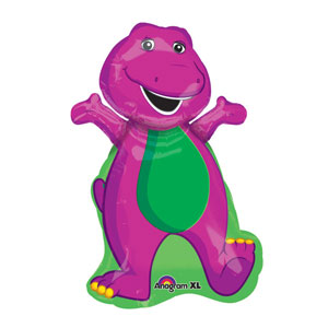 Barney Shape Balloon- 34in