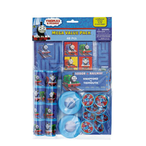Thomas The Tank Favor Pack- 48pc
