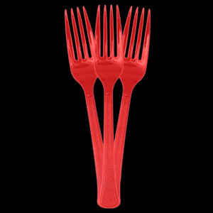 Forks - Cherry Red