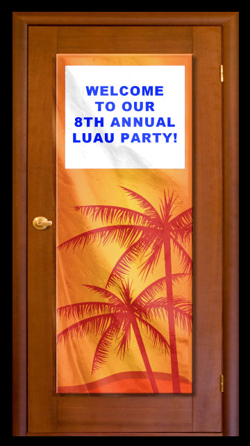 Tropical - Custom Door Banner