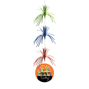 40 Candles Firework Danglers - 3ct