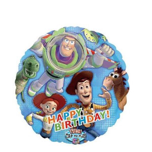 Toy Story Birthday Singing Balloon- 28 Inch