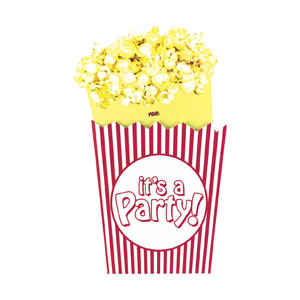 Movie Night Invitations- 8ct