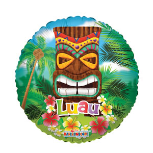 Luau Tiki God Balloon- 18in