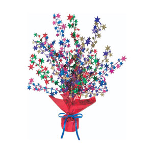 Star Gleam n Burst Centerpiece - 15 inches
