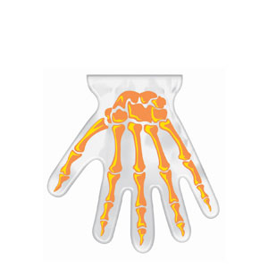 Hand-Shaped Goody Bags- 12ct