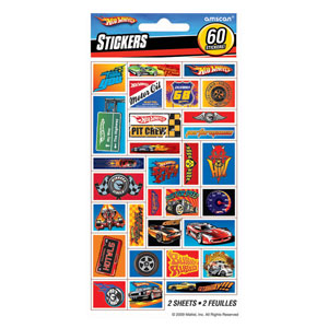 Hot Wheels Sticker Sheets- 2ct