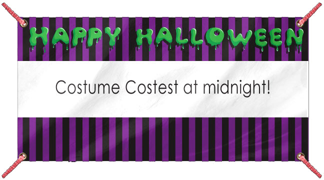 Happy Halloween - Custom Banner