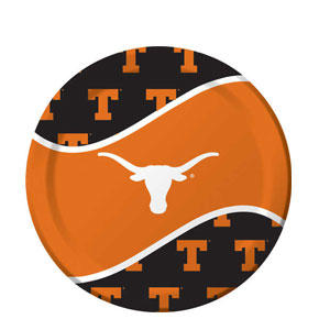 Texas 9 Inch Dinner Plates- 8ct