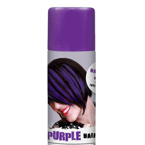 Color Hair Spray- Purple
