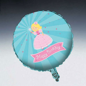 Fairytale Princess Metallic Balloon