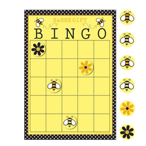 Babee Shower Bingo - 10ct