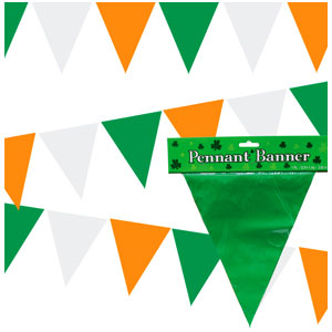 St. Patty's Day Pennant Banner