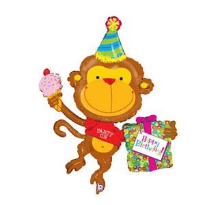 Birthday Party Animal Balloon- 49in