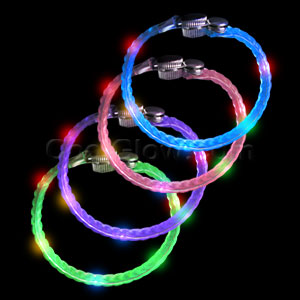 LED Braided Bracelets - Assorted