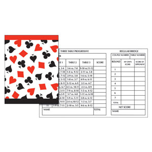 Card Night Tally Cards- 12ct