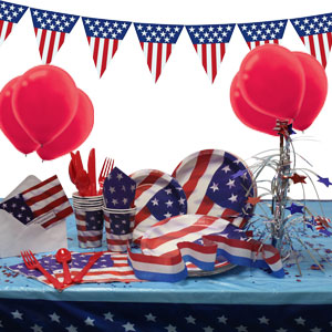 4th of July Super Party Package