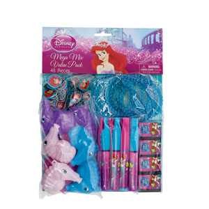 Disney Little Mermaid Favor Pack- 48pc