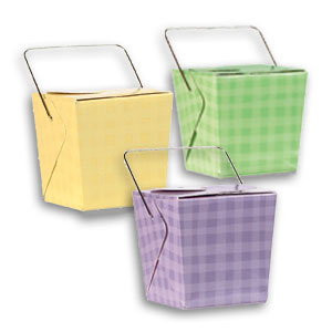 Plaid Pails - Multi
