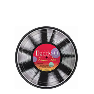 Sock Hop Greatest Hits 7 Inch Metallic Plates- 8ct
