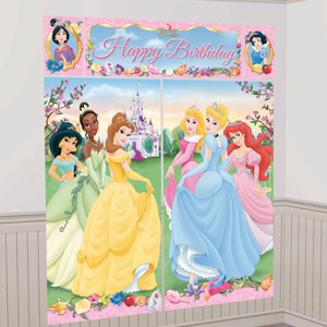 Disney Princess Scene Setter- 5pc