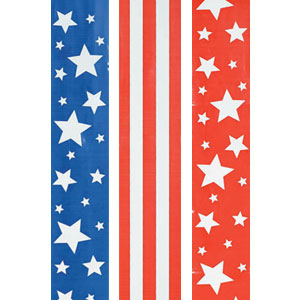 Patriotic Flag 30 Foot Ribbon- 3ct