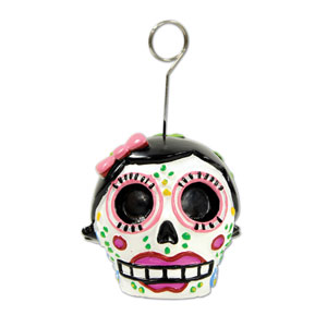 Day of the Dead Female Balloon Weight - 6oz