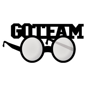 Go Team Glasses - Black