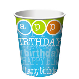 Time to Party 9oz Cup - 8ct