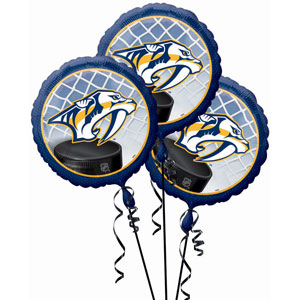 Nashville Predators 3 Pack Balloons- 18in