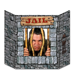 Jail Photo Prop- 37in