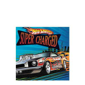 Hot Wheels Beverage Napkins- 16ct