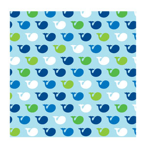 Ocean Preppy Beverage Napkins - 16ct