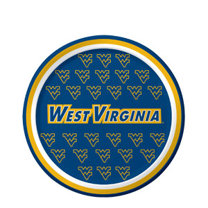 West Virginia 7 Inch Plates