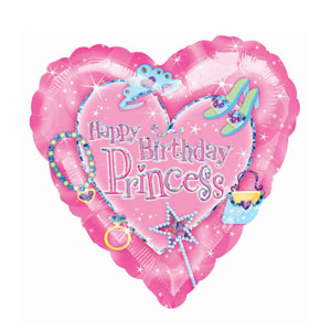 Princess Prismatic Balloon