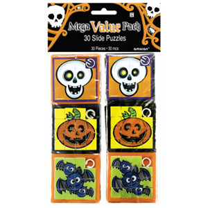 Halloween Slide Puzzle Value Pack- 30ct