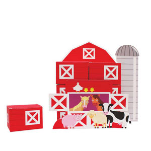 Barnyard Bash Centerpiece Favorboxes- 6pc