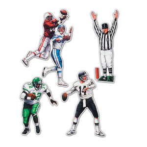 Football Figures- 4ct