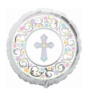 Blessed Day Balloon - 18 Inch