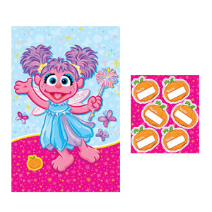 Abby Cadabby Large Party Game- 2pc