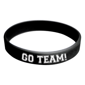 Go Team Wristband - Black