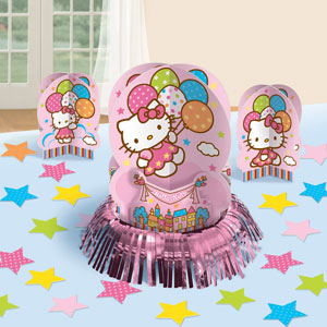 Hello Kitty Balloon Dreams Table Decorating Kit- 23pc
