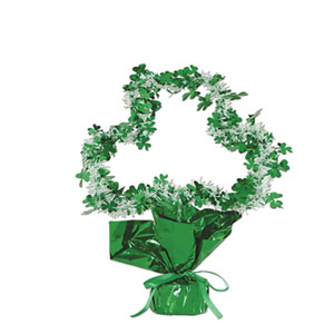 Shamrock Gleam Shape Centerpiece