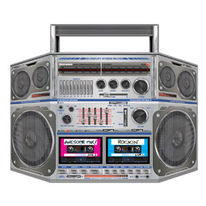 Boom Box Stand-Up - 3ft